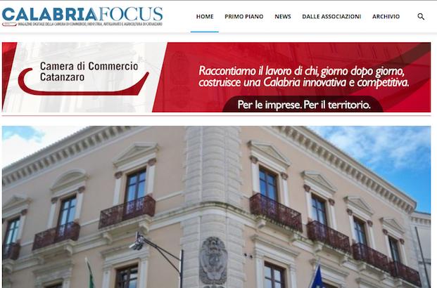 Sito web Calabria Focus